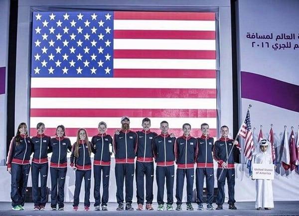 Team USA at the 2016 IAU 50k World Championships