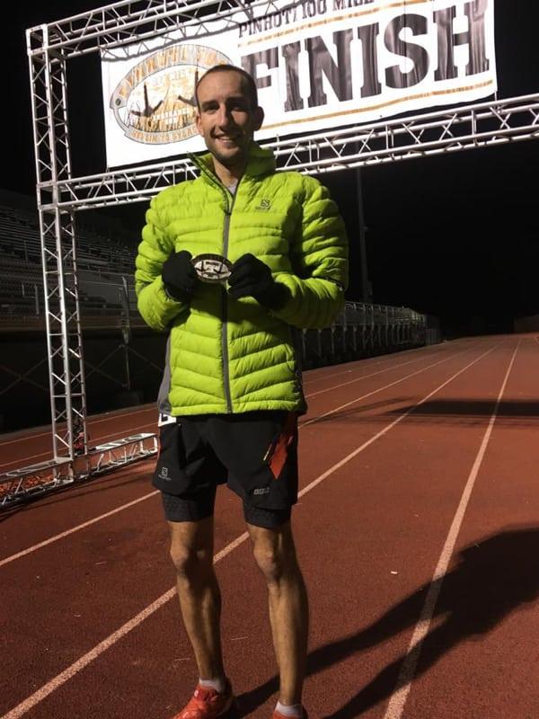 David Riddle - 2016 Pinhoti 100 Mile champion