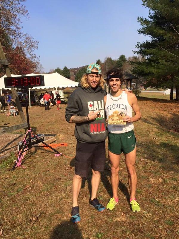 David Kilgore - 2016 Georgia Sky to Summit 50k champion