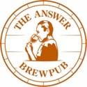 The Answer Brewpub logo