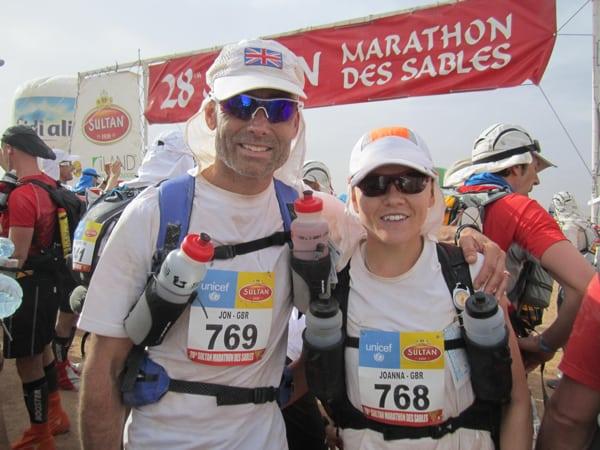 Jo Meek - 2013 Marathon des Sables