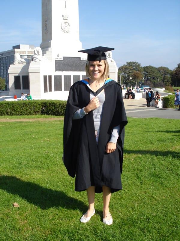 Jo Meek - graduation