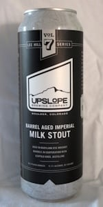 Upslope Brewing Company Barrel Ages Imperial Milk Stout