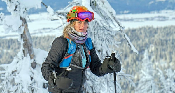 2016 Northwest Passage Individual ski mountaineering race - Clare Gallagher