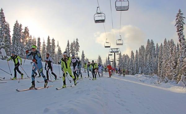 2016 Northwest Passage Vertical ski mountaineering race