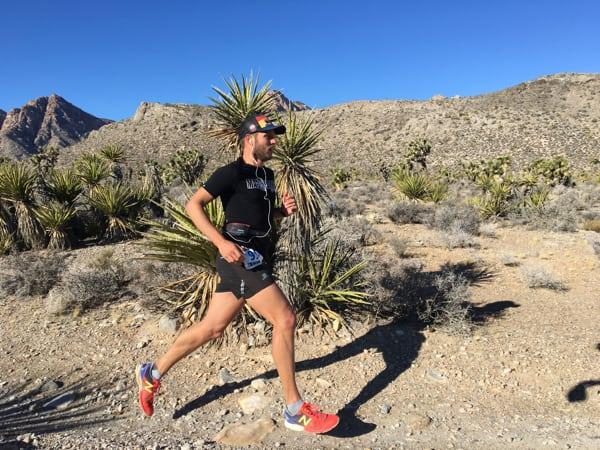 Justin Ricks - 2016 Trails of Glory Marathon champion