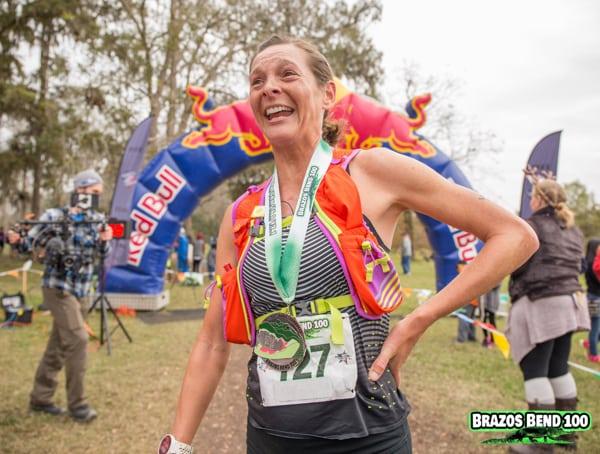 Caroline Boller - 2016 Brazos Bend 50 Mile Champion 2