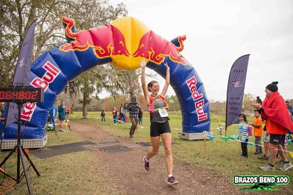 Caroline Boller - 2016 Brazos Bend 50 Mile champion
