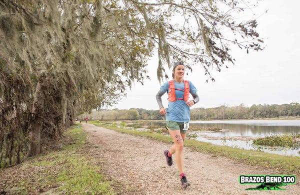 Maggie Guterl - 2016 Brazos Bend 100 Mile champion