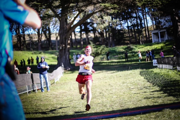 2016 The North Face Endurance Challenge 50 Mile Championships - Zach Miller finish 1