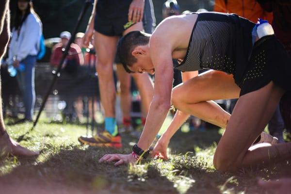 2016 The North Face Endurance Challenge 50 Mile Championships - David Laney finish