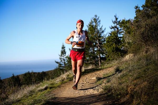2016 The North Face Endurance Challenge 50 Mile Championships - Zach Miller mile 32