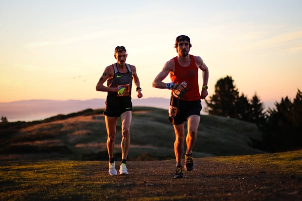 2016 The North Face Endurance Challenge 50 Mile Championships - David Laney and Paddy O'Leary mile 19