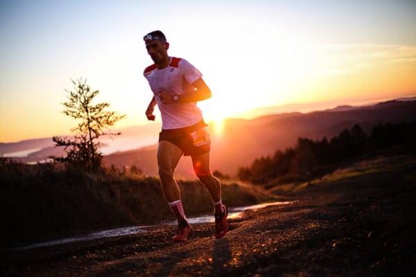 2016 The North Face Endurance Challenge 50 Mile Championships - Dimitris Theodorakakos mile 19