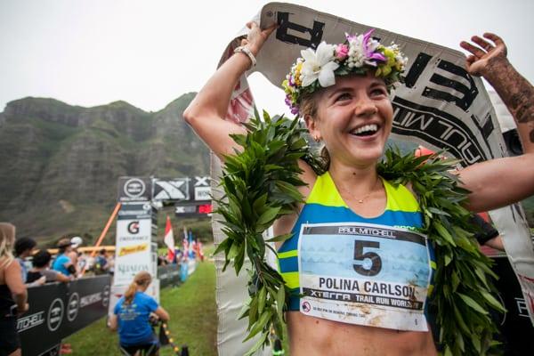 Polina Carlson - 2016 XTERRA Trail Running World Champion