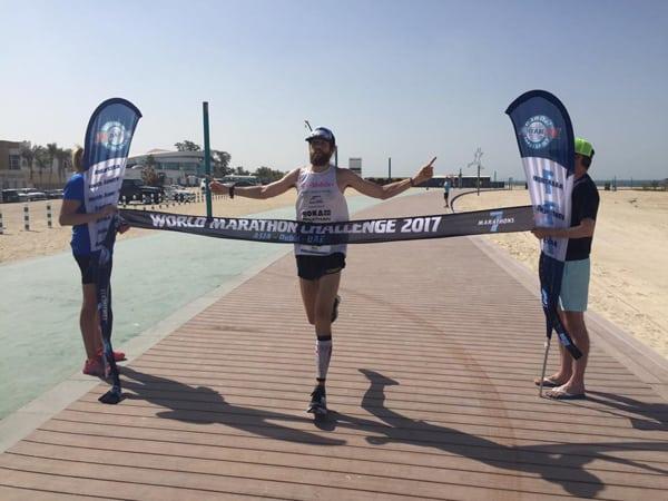 Michael Wardian - 2017 World Marathon Challenge winner