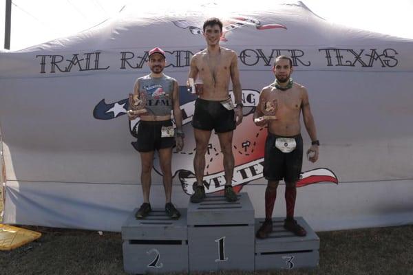 2017 Horseshoe Trail Run 50k men's podium