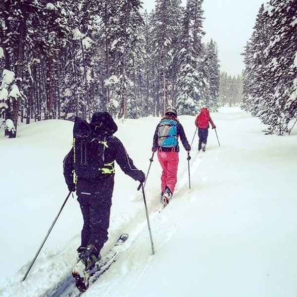 Zach Miller - backcountry skiing