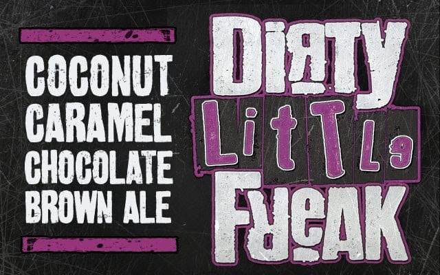 DuClaw Brewing Company Dirty Little Freak Coconut Caramel Chocolate Ale