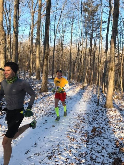 Bob Adams - 2017 Cloudland Canyon 50 Mile champion