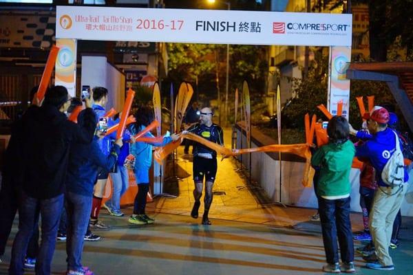 Gediminas Grinius - 2017 Ultra Trail Tai Mo Shan winner