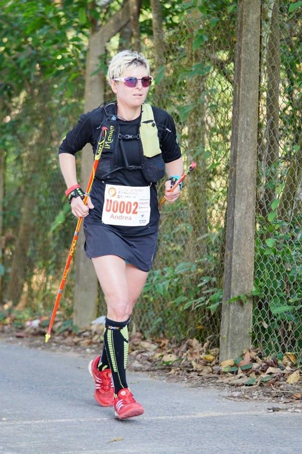 Andrea Huser - 2017 Ultra Trail Tai Mo Shan winner