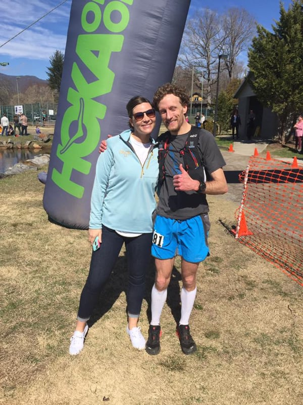 Nathan Holland - 2017 Mount Mitchell Challenge champion