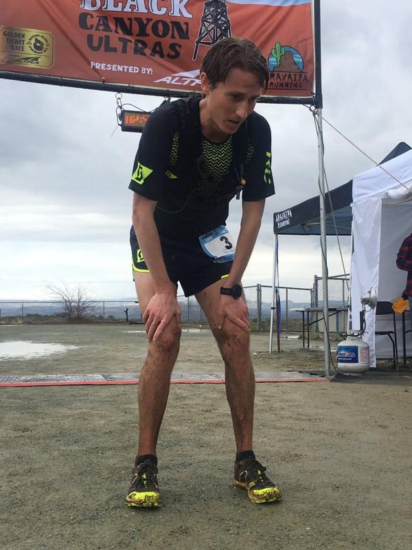 Alex Nichols - 2017 Black Canyon 100k champion