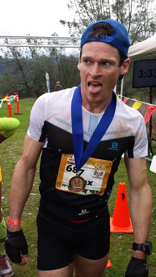 Max King - 2017 FOURmidable 50k champion
