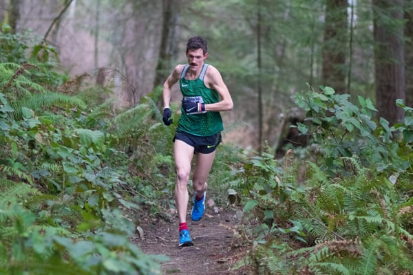 David Laney - 2017 Fragrance Lake Half Marathon champion