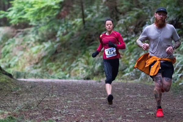 Maria Dalzot - 2017 Fragrance Lake Half Marathon champion