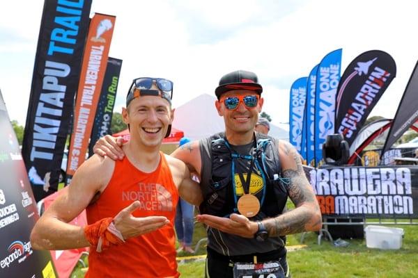 2017 Tarawera Ultramarathon - Andrius Ramonas - Gediminas Grinius