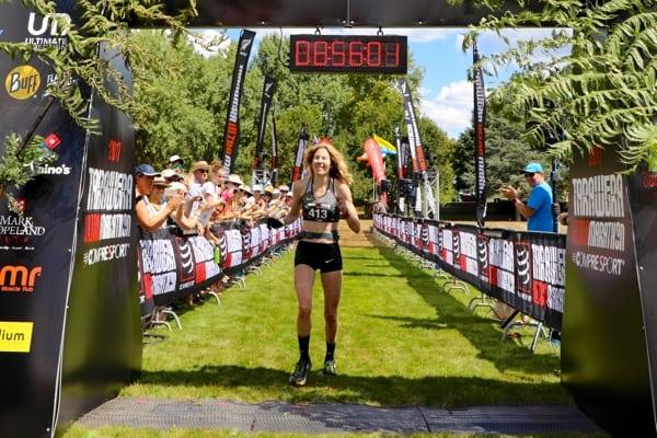 2017 Tarawera Ultramarathon - Camille Herron