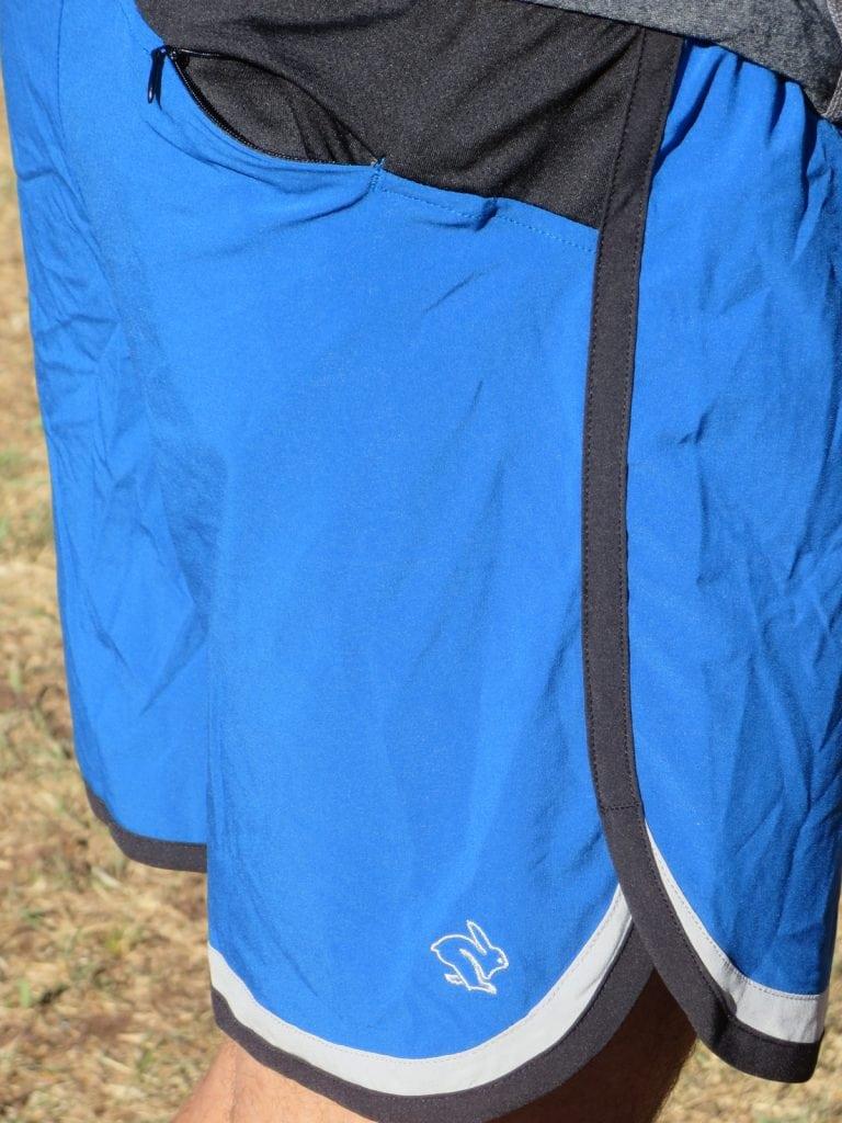Back view of Quadzilla shorts