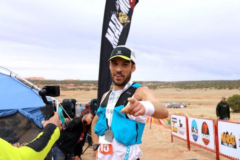 Chris Mocko - 2017 Behind the Rocks 50 Mile champion