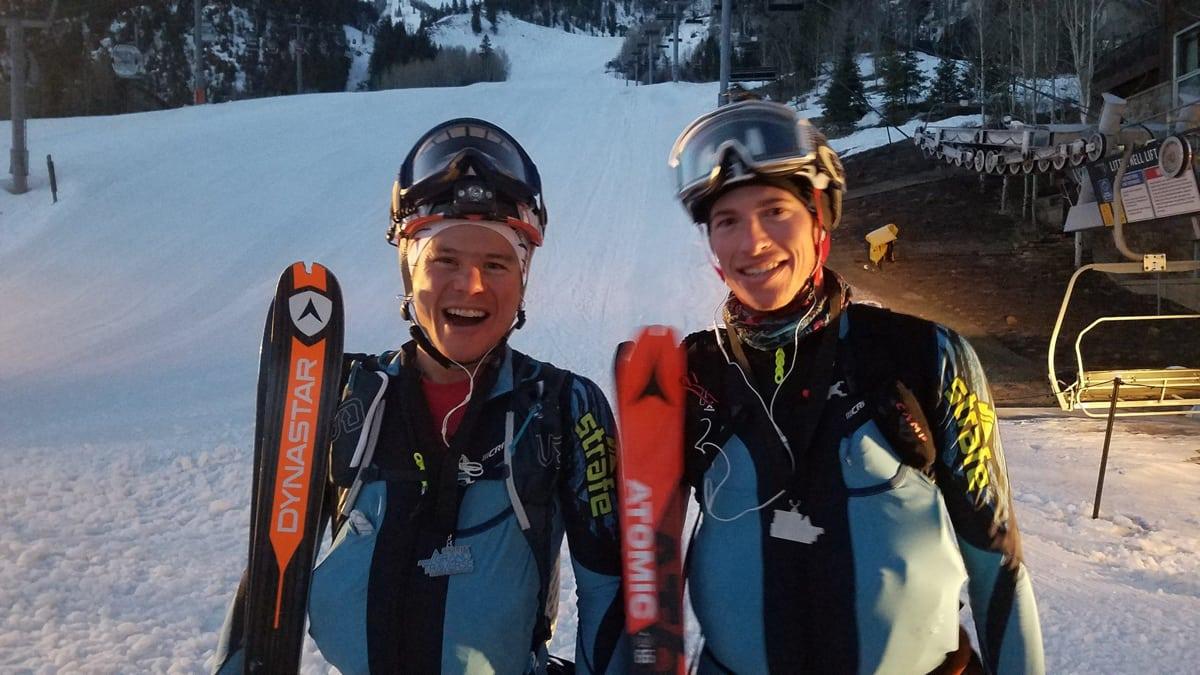 Max Taam and John Gaston - 2017 Grand Traverse champions