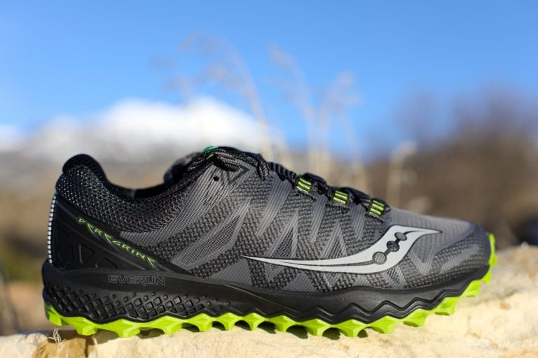 Saucony Peregrine 7 lateral upper