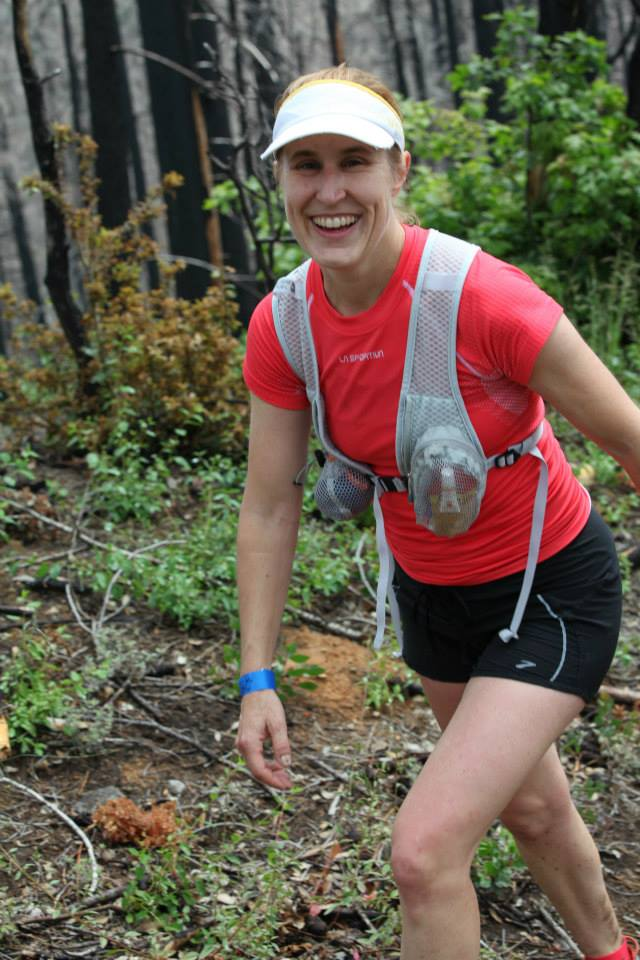 Pam Smith at Western States 100 training camp