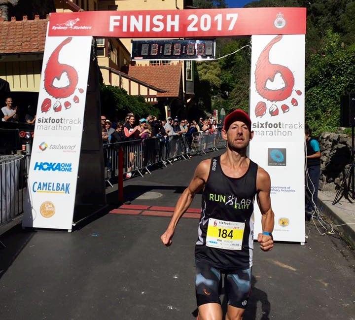 Vlad Shatrov - 2017 Six Foot Track champion