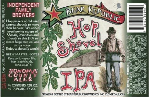 Bear Republic Brewing Company Hop Shovel