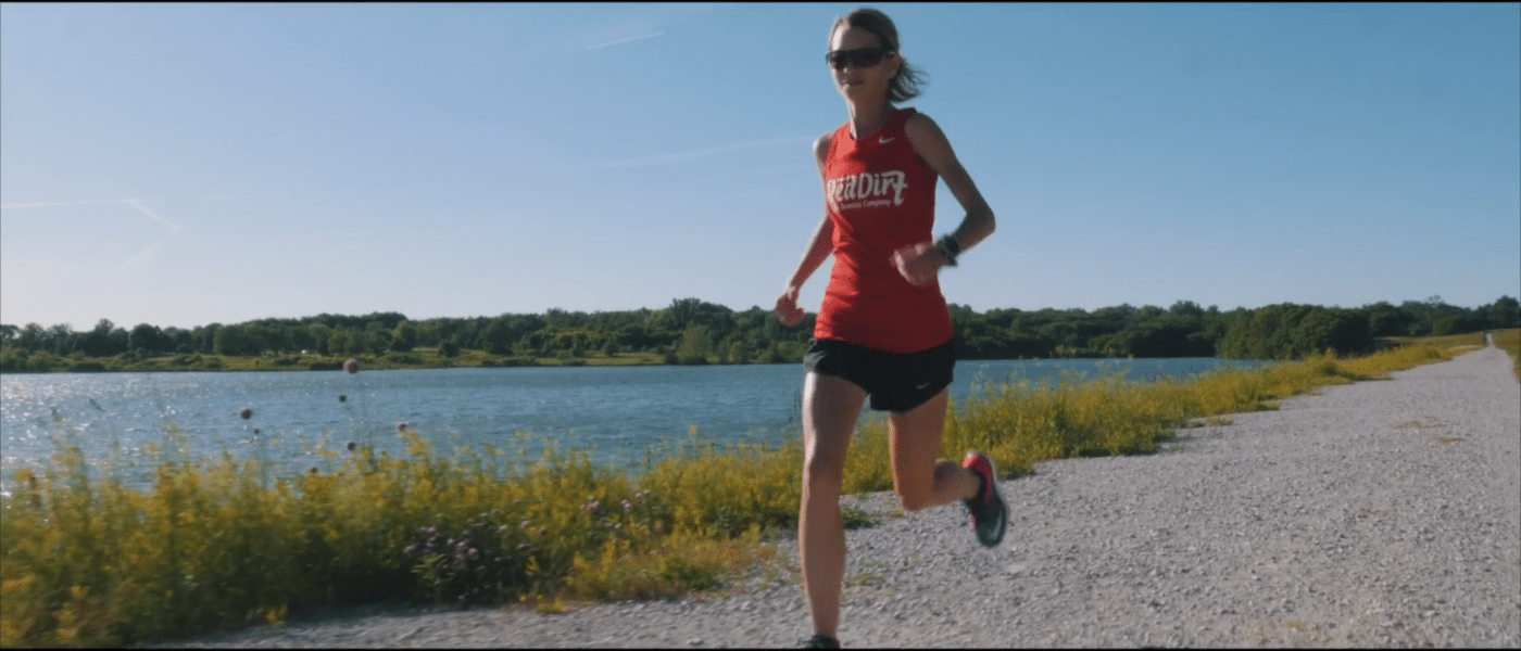 Life in a Day - Kaci Lickteig home running