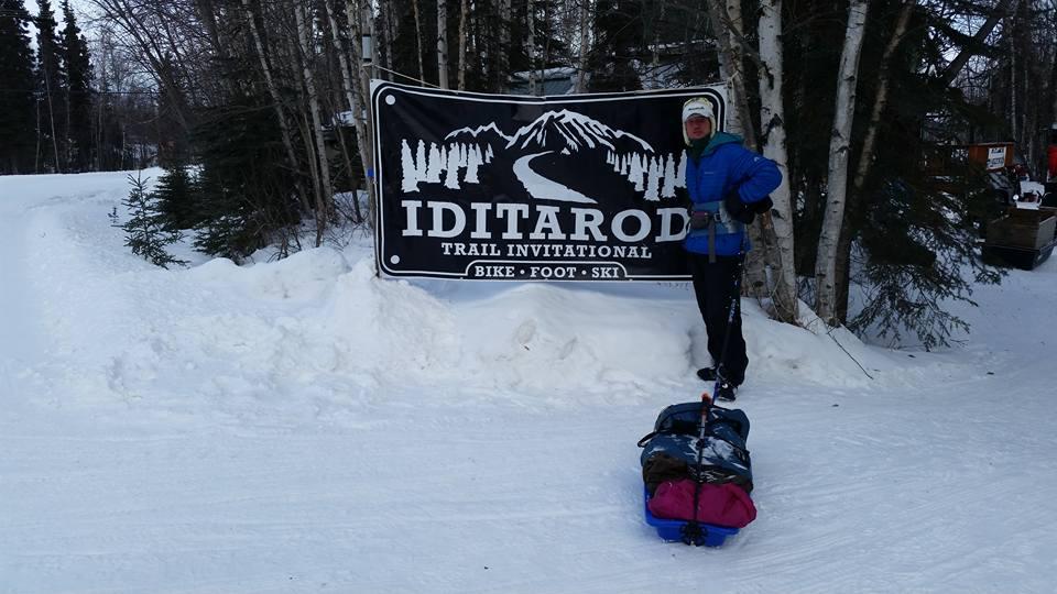 Dave Johnston - 2017 Iditarod Trail Invitational champion