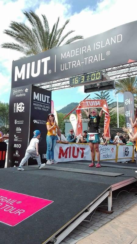 Andrea Huser - 2017 Madeira Island Ultra-Trail champion