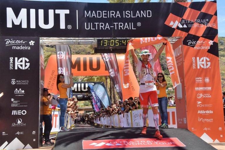 Francois D'haene - 2017 Madeira Island Ultra-Trail champion