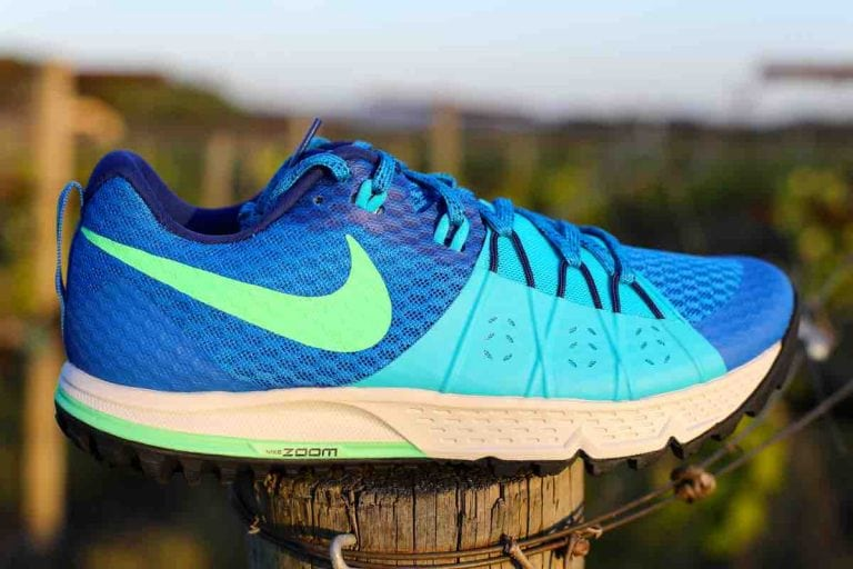 Nike Air Zoom Wildhorse 4 lateral upper