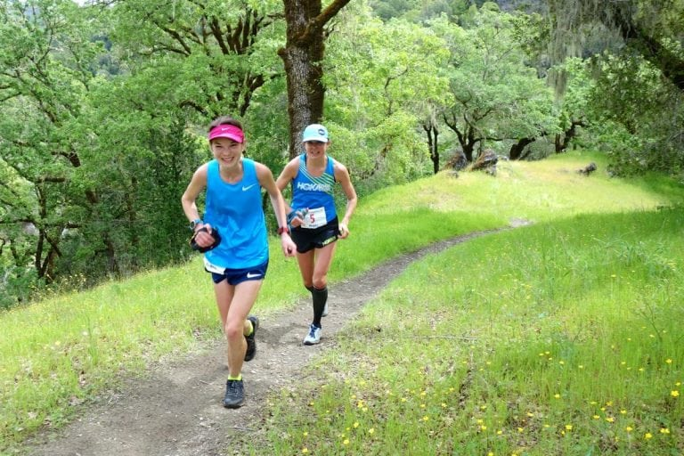 2017 Lake Sonoma 50 Mile - Kaci Lickteig - Magda Boulet