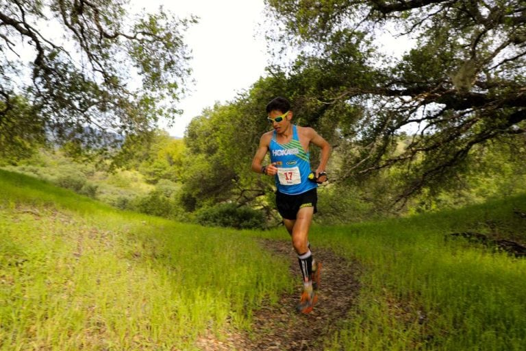 2017 Lake Sonoma 50 Mile - Sage Canaday Madrone