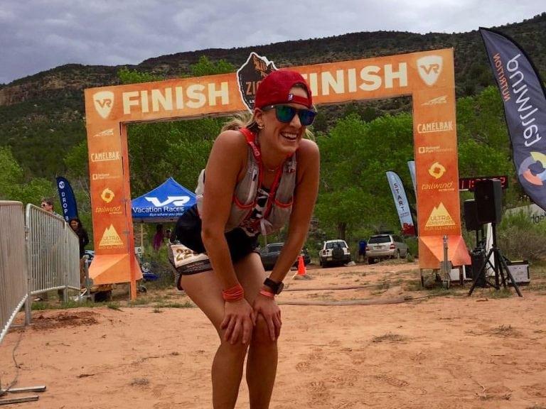 Teresa Kaiser - 2017 Zion 100k champion