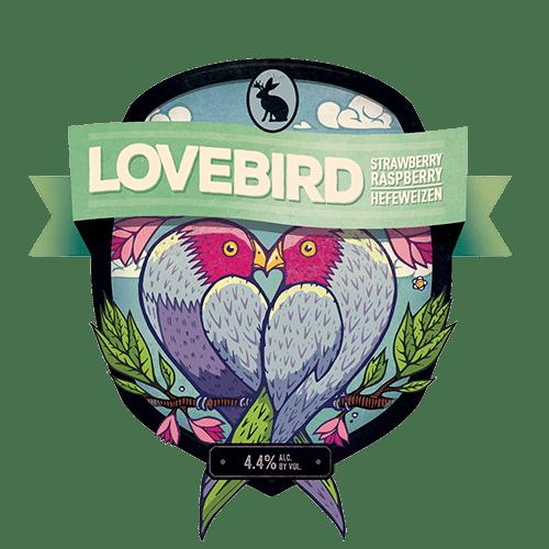 Jackalope Brewing Company Lovebird