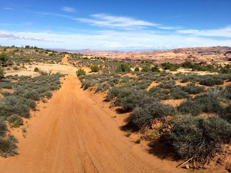 Toward Hunter Canyon